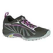 Womens Merrell Siren Edge Trail Running Shoe - Black 6.5
