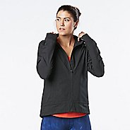 Womens R-Gear Zip To It Printed Running Jackets - Metallic Dot L