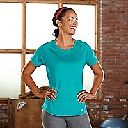 Womens R-Gear Fast and Fab Short Sleeve Technical Tops - Aqua Sea XS