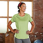 Womens R-Gear Fast and Fab Short Sleeve Technical Tops - Lemon Lime XS
