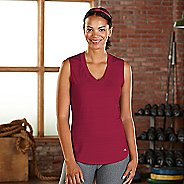 Womens R-Gear Finish First Sleeveless & Tank Technical Tops - Ruby S