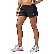Womens Reebok CrossFit Knit Woven Compression & Fitted Shorts