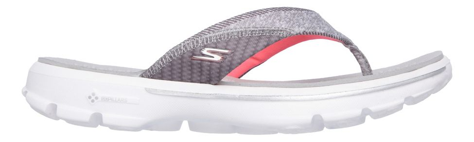 aa92539adca8 Womens Skechers GO Walk Pizazz Sandals Shoe at Road Runner Sports