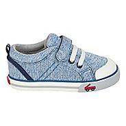 Boys See Kai Run Tanner Casual Shoe - Blue Jersey 12C
