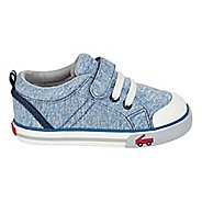 Boys See Kai Run Tanner Casual Shoe - Blue Jersey 9C