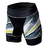 Womens De Soto Riviera Tri Unlined Shorts - Sunshine Brushstroke M