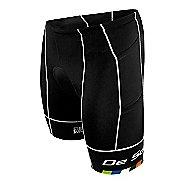 Mens De Soto Mobius Tri 4 Pocket Unlined Shorts - Black/Multi L