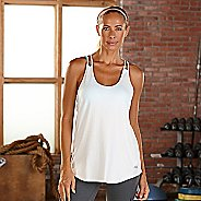 Womens R-Gear Standout Strappy Sleeveless & Tank Technical Tops - White L