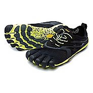 Mens Vibram V-Run Running Shoe - Black/Yellow 48