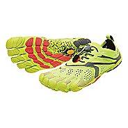 Womens Vibram V-Run Running Shoe - Black/Yellow 9