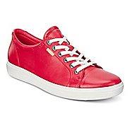 Womens Ecco Soft VII Sneaker Casual Shoe - Tomato 8.5