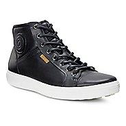 Mens Ecco Soft VII Boot Casual Shoe - Black 10.5