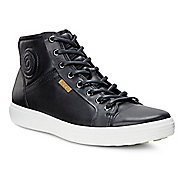 Mens Ecco Soft VII Boot Casual Shoe - Black 44