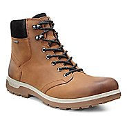 Mens Ecco Whistler GTX High Walking Shoe - Amber/Black 41