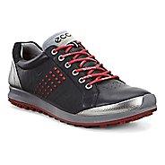 Mens Ecco BIOM Hybrid 2 Cleated Shoe - Black/Brick 11.5