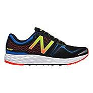 Mens New Balance Fresh Foam Vongo Running Shoe - Blue/Black 8
