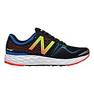 Mens New Balance Fresh Foam Vongo Running Shoe - Blue/Black 8.5