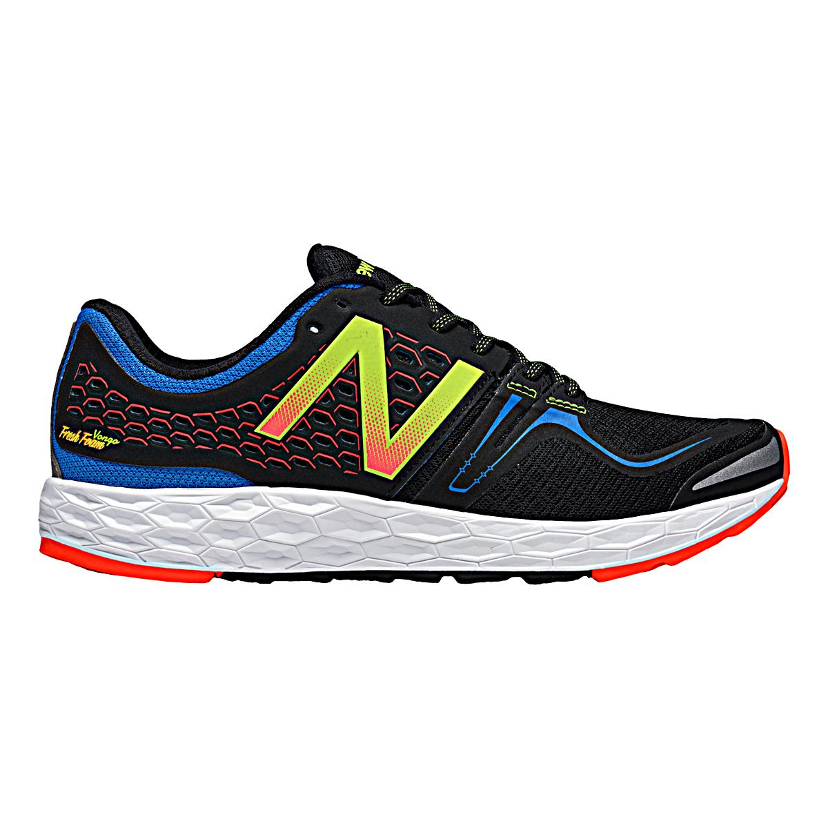 Mens New Balance Fresh Foam Vongo Blue Black Running Shoes Z44158