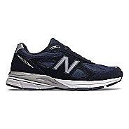 Mens New Balance 990v4 Running Shoe - Navy/Silver 15
