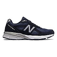 Mens New Balance 990v4 Running Shoe - Navy/Silver 16