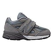 Kids New Balance 990v4 Running Shoe - Grey/Grey 3C
