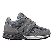 Kids New Balance 990v4 Running Shoe - Grey/Grey 5C