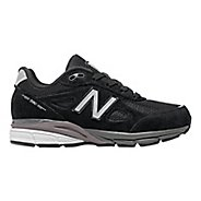 Kids New Balance 990v4 Running Shoe - Black/Black 1.5Y
