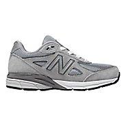 Kids New Balance 990v4 Running Shoe - Grey/Grey 11.5C