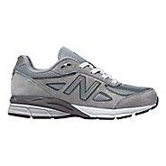 Kids New Balance 990v4 Running Shoe - Black/Black 4.5Y