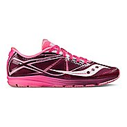 Womens Saucony Type A Running Shoe - Pink/Purple 10.5