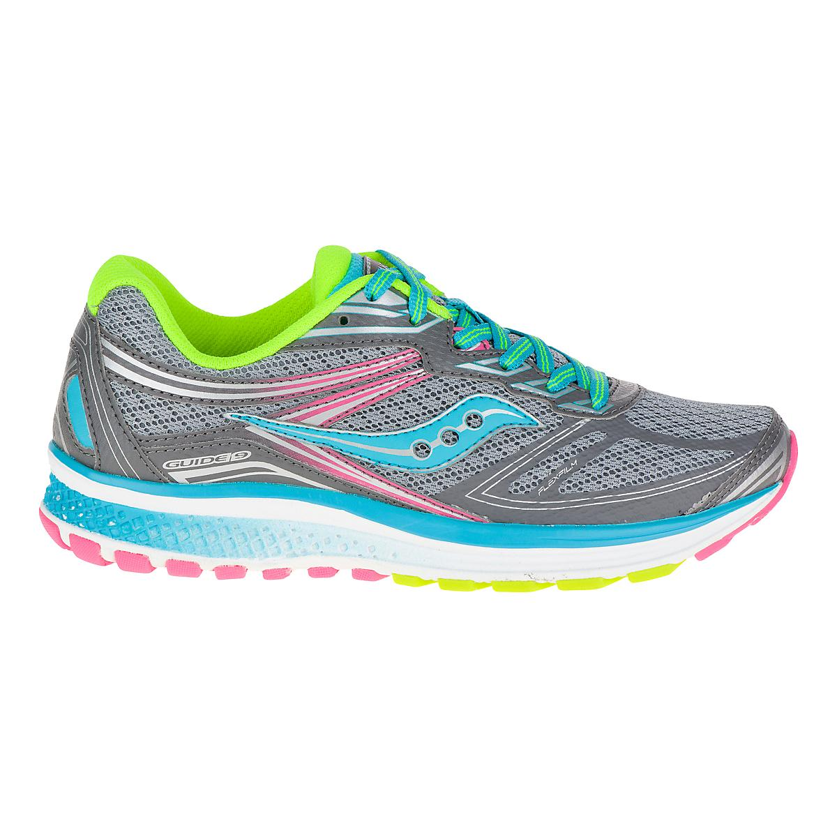 competitive price 2f4f1 40d14 Kids Saucony Guide 9 Running Shoe at Road Runner Sports