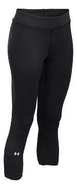 Womens Under Armour HeatGear Crop Capris Pants