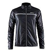 Mens Craft Featherlight Rain Jackets - Black XL