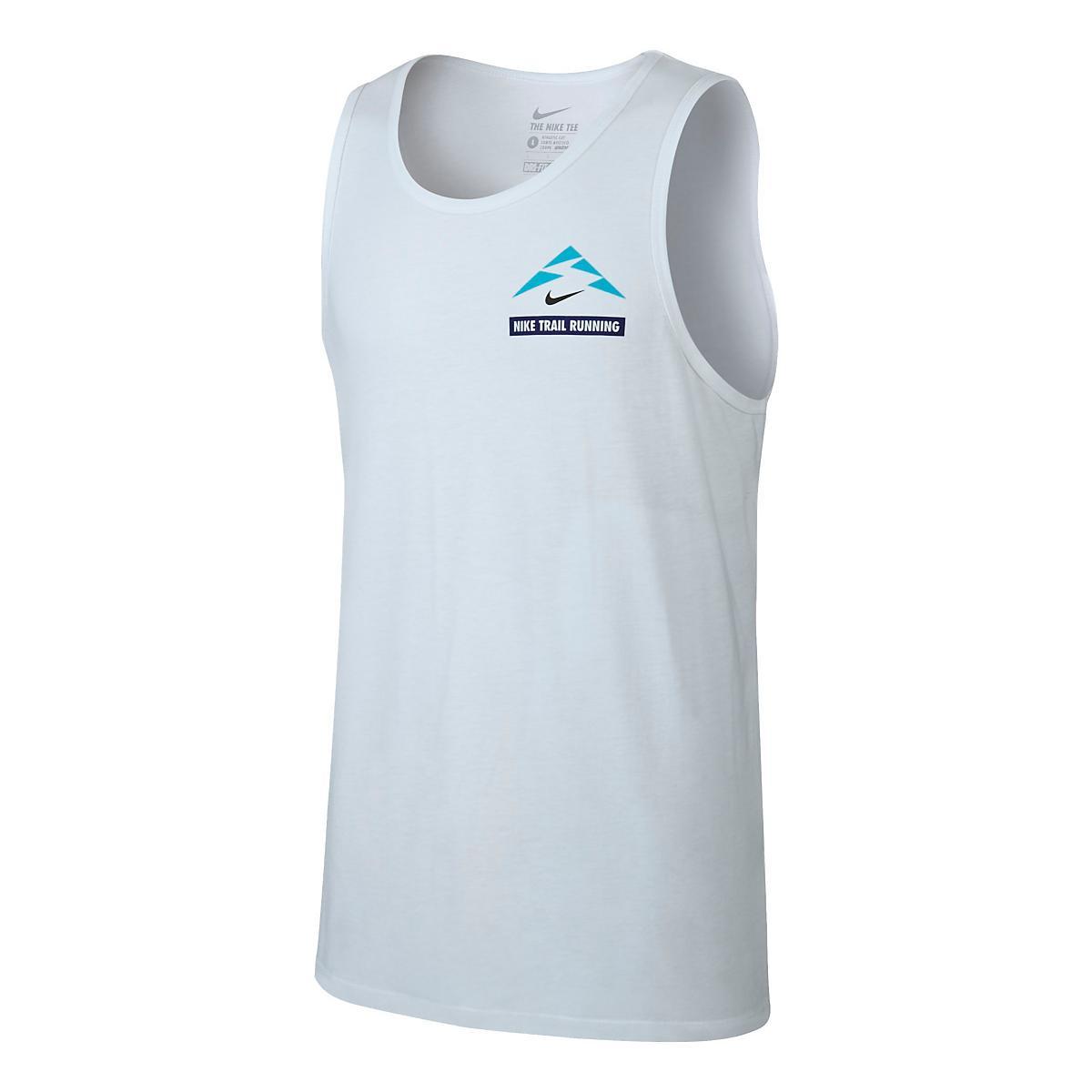 6dc01e88e784d Mens Nike Run Trail Running Sleeveless   Tank Technical Tops at Road Runner  Sports