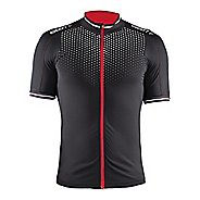 Mens Craft Glow Jersey Short Sleeve Technical Tops
