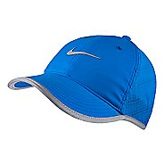 Womens Nike Run Knit Mesh Cap Headwear - Photo Blue