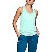 Womens Under Armour Tech Twist Sleeveless & Tank Technical Tops