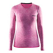 Womens Craft Roundneck Long Sleeve Technical Tops