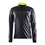 Mens Craft Voyage Running Jackets - Asphalt XL