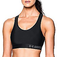 Womens Under Armour Mid Sports Bras - Black XS