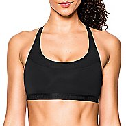 Womens Under Armour Mid Breathe Sports Bras - Black M
