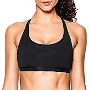 Womens Under Armour Mid Breathe Sports Bras - Black XS