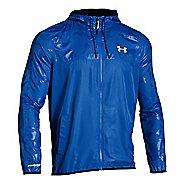 Mens Under Armour Sportstyle Windbreaker Running Jackets - Ultra Blue XL