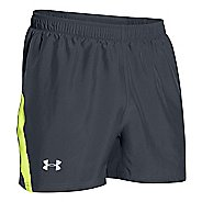 "Mens Under Armour Launch 5"" Lined Shorts"
