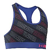 Under Armour Novelty Sports Bras - Black/Blue YL