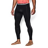 Mens Under Armour HeatGear Compression Tights & Leggings Pants - Black 3XL