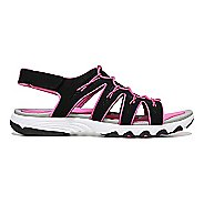 Womens Ryka Glance Sandals Shoe - Black/Pink 8.5