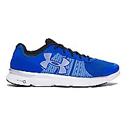 Mens Under Armour Micro G Speed Swift Running Shoe - Ultra Blue/White 10.5