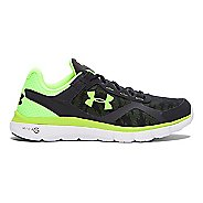 Mens Under Armour Micro G Velocity RN GR Running Shoe - Anthracite/White 9.5