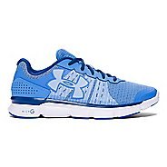 Womens Under Armour Micro G Speed Swift Running Shoe - Water/White 7